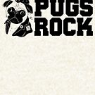 Cute & Funny Pugs Rock Pug Owners by perfectpresents