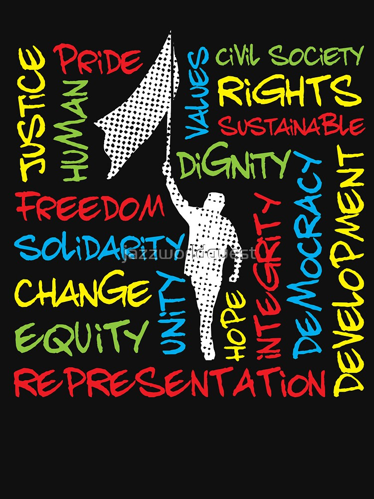 Colorful Civil Rights Activist Theme by jazzworldquest