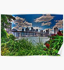 Spring In Brooklyn Bridge Park, NY, USA Poster