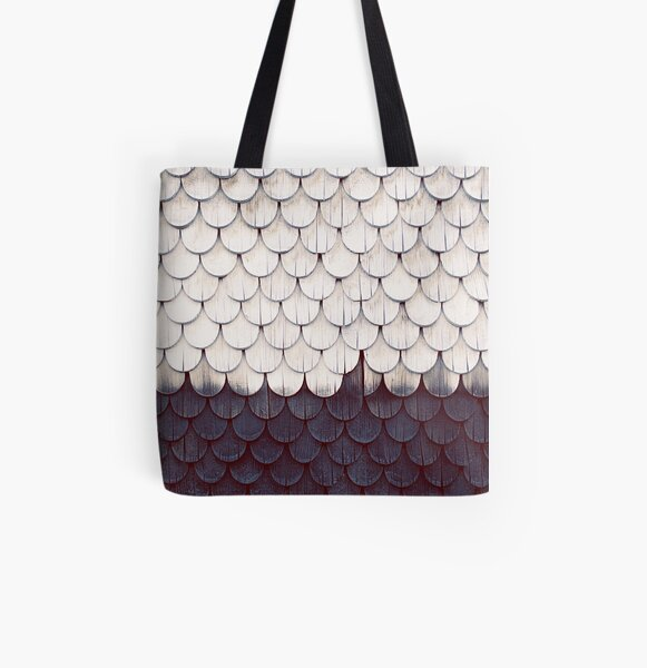 SHELTER Allover-Print Tote Bag