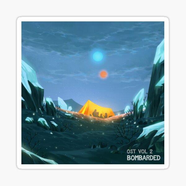 bomBARDed OST Vol. 2 Album Cover Sticker