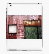 Old building facade, Richmond iPad Case/Skin