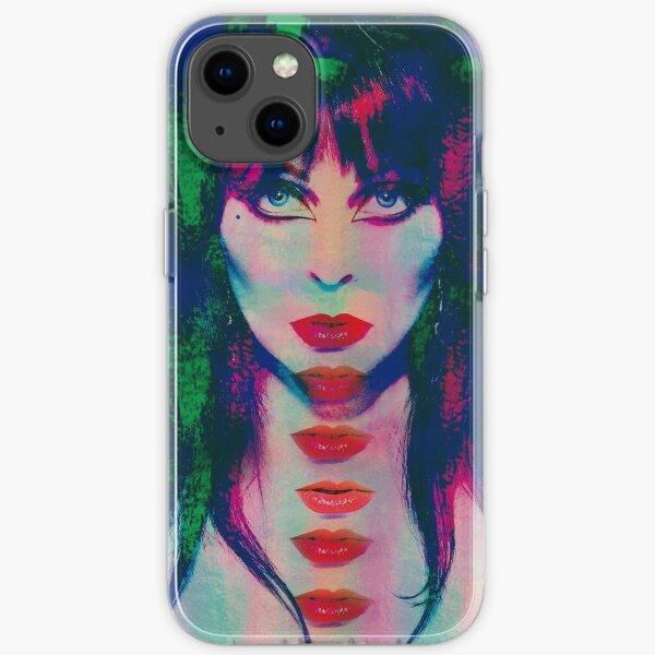 Elvira popart iPhone Soft Case