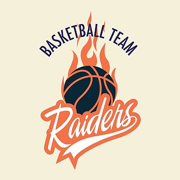 Basketball Team Raiders by bza84
