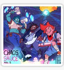 Chaos Sauce Vol. 2 Cover Art Sticker