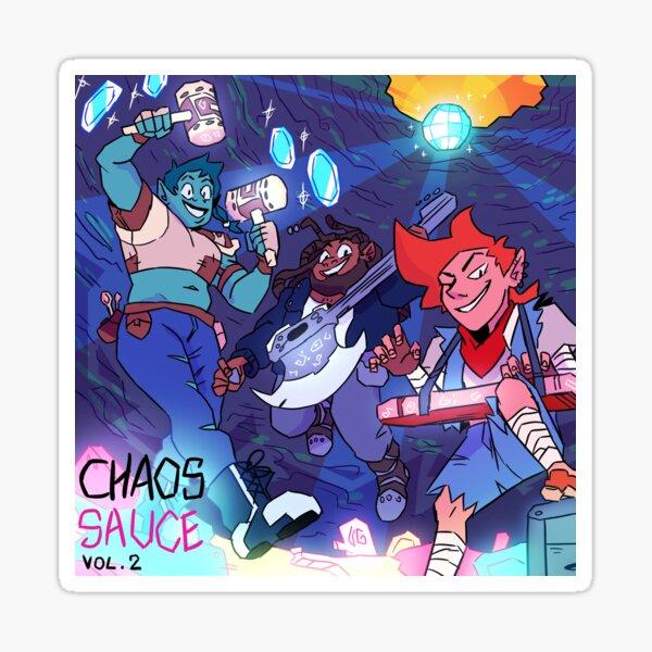 Chaos Sauce Vol. 2 Cover Art Sticker