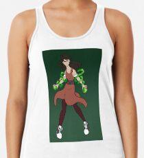 Camiseta con espalda nadadora Emerald Enchantress