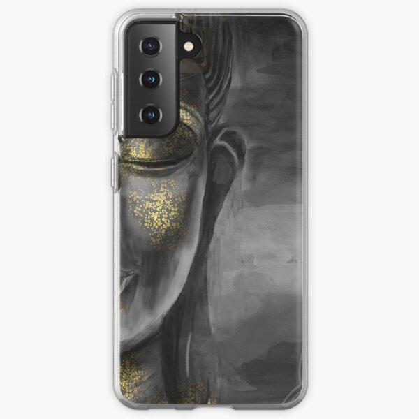 Buddha Gray Samsung Galaxy Soft Case