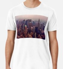 Weinlese New York Premium T-Shirt
