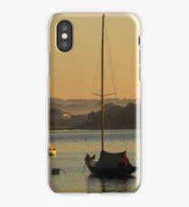 Morning Mooring iPhone Case