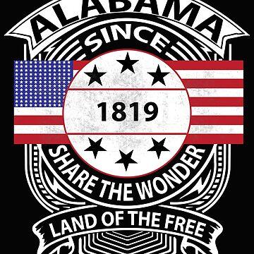Alabama Grunge Clothing by joyfuldesigns55