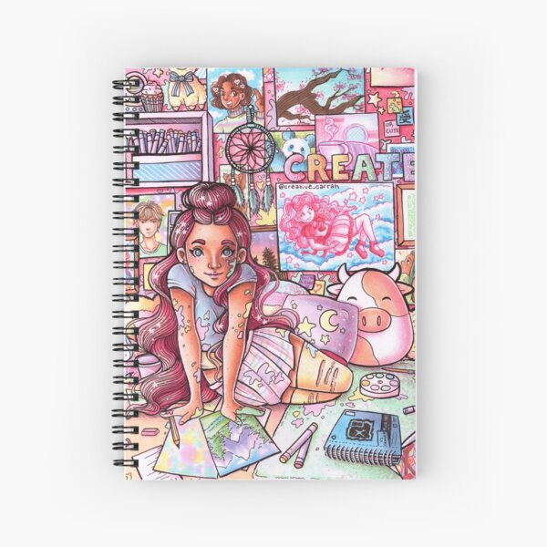 Pastel Room Spiral Notebook