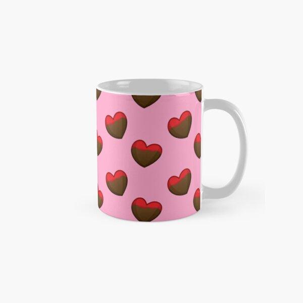 Chocolate Dipped Heart Classic Mug