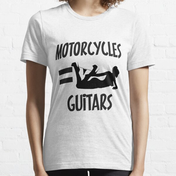 MOTORCYCLES & GUITARS = Essential T-Shirt