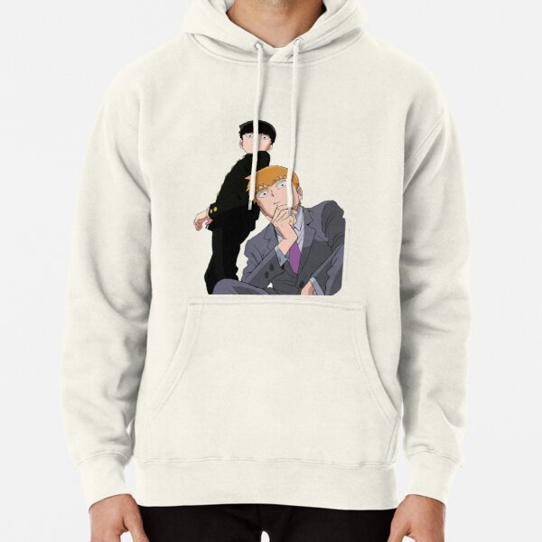 Mob and Reigen Pullover Hoodie