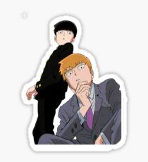 Mob and Reigen Sticker