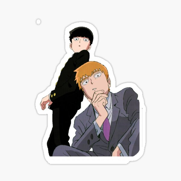 Mob and Reigen Sticker