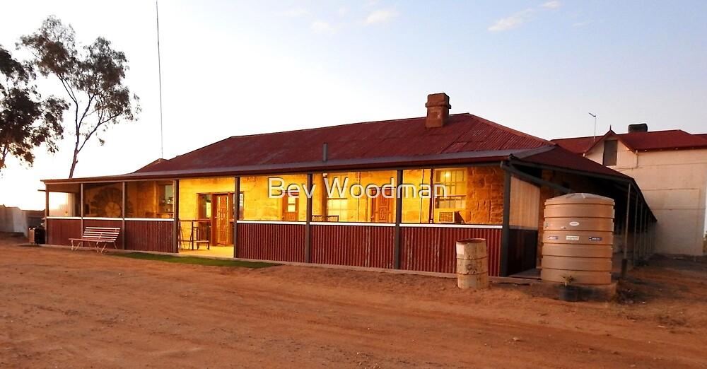 Albert Hotel Milparinka NSW Australia by Bev Woodman