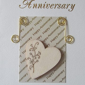 Wedding Anniversary Card  by lezvee