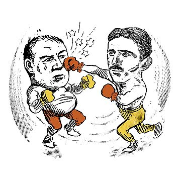 Tesla fights Edison by radvas