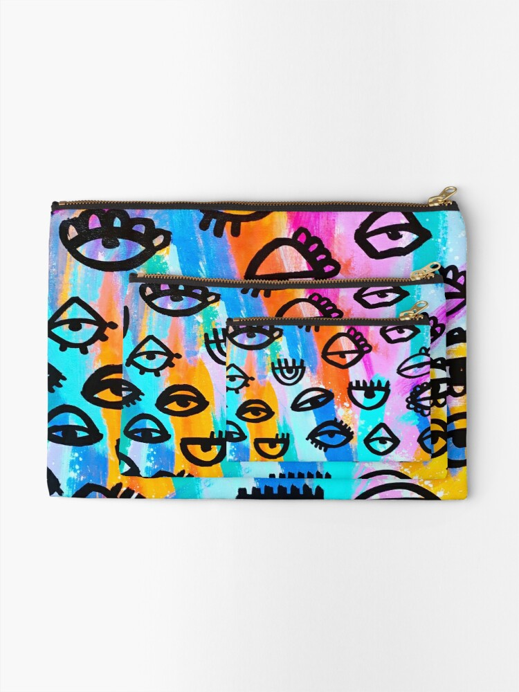 Alternate view of I see you! Zipper Pouch