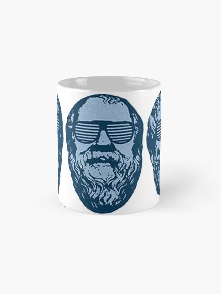 Alternate view of Clubbing in Plato's Cave Mug