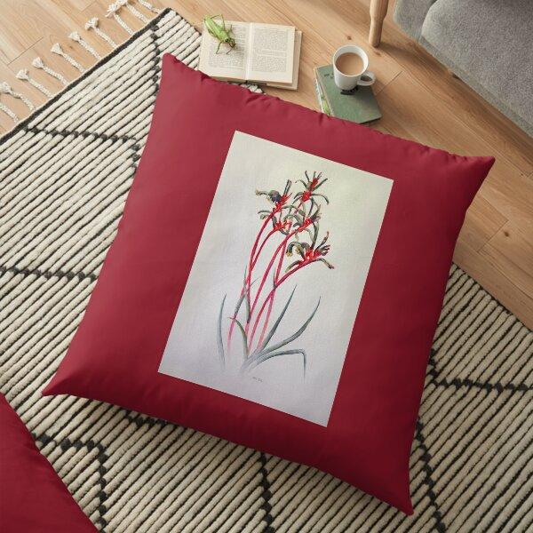 Mangles Kangaroo Paw Floor Pillow