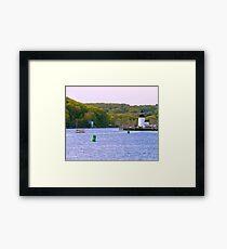 Mystic Greenery Framed Print