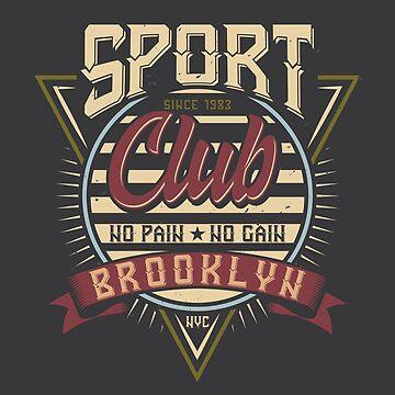 GYM - Sports Club Brooklyn by Skullz23