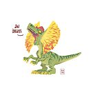 Aw Beans (Potty-Mouthed Dino) by Ron Chan