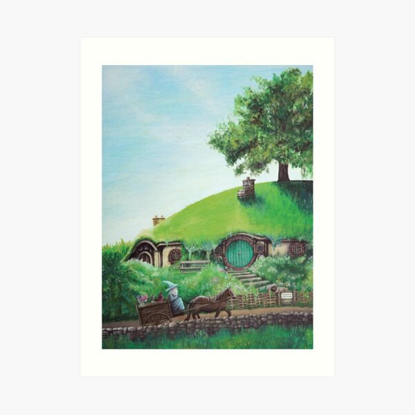 Bag End Art Print
