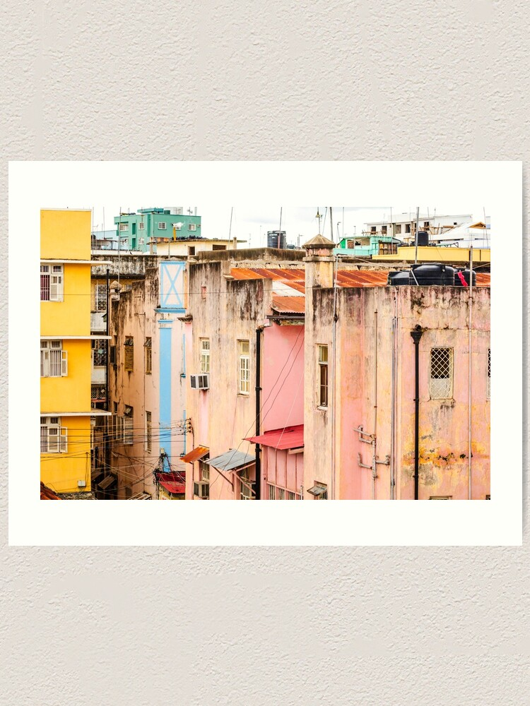 Alternate view of Urban Dar es Salaam Tanzania 3417 East Africa Art Print