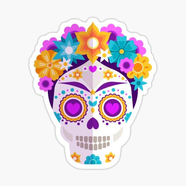 Frida Khalo - Catrina - Dia de los muertos Sticker