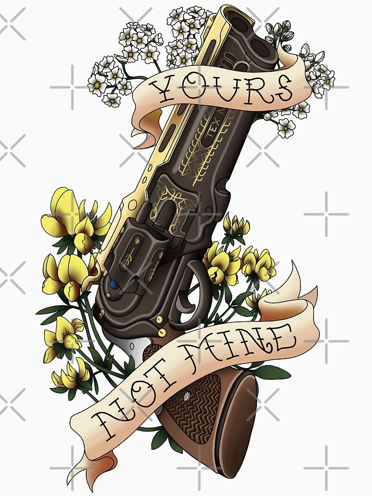 'Yours, Not Mine' Tattoo-Inspired Design by Jocossie