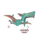 V's Nip (Potty-Mouthed Dino) by Ron Chan