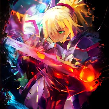 Neon knight Saber by hustlart