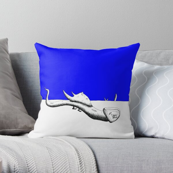 Invasion: Rhino Throw Pillow