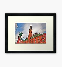Palace Hotel Copenhagen Framed Print