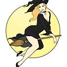 Witch Pinup by CatAstrophe