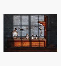 Chemist - The Science experiment Photographic Print