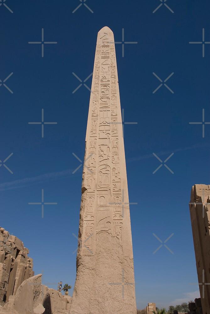 u0026quot queen hatshepsut obelisk at karnak temple u0026quot  by jamesth