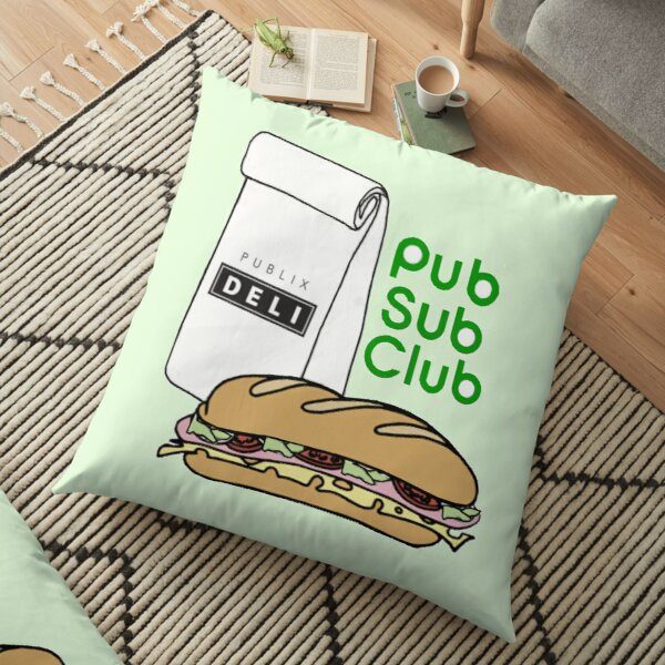 Pub Sub Club Floor Pillow