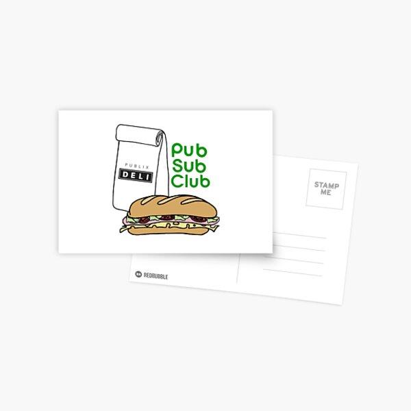 Pub Sub Club Postcard