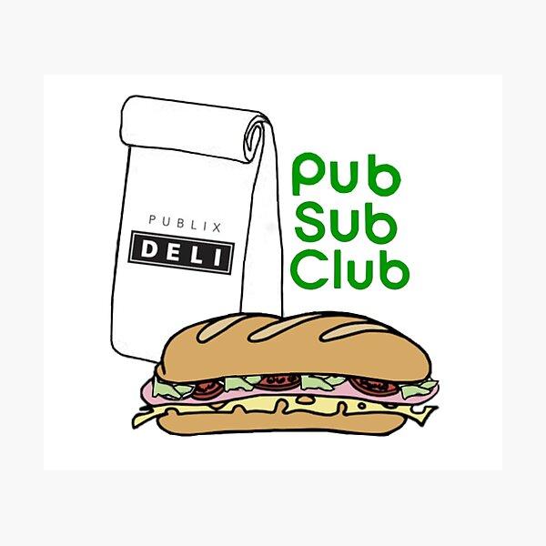 Pub Sub Club Photographic Print