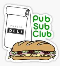 Pub Sub Club Sticker