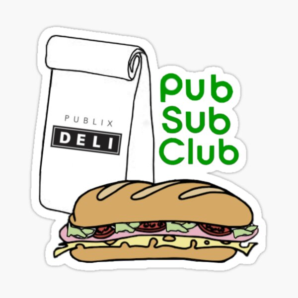 Pub Sub Club Sticker