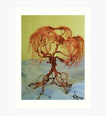 Coppertrees Art Print