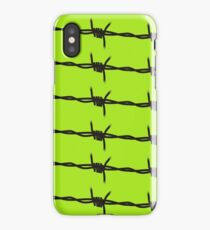 Barbed Wire by Chillee Wilson iPhone Case