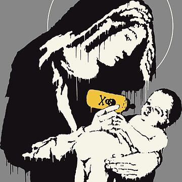 Banksy Holy Mary by LeoZitro