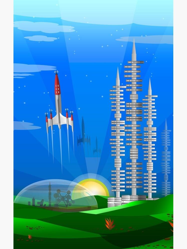 Mars Colony - Terra Formed by cdavenport4